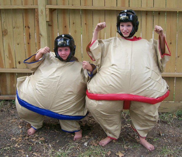Inflatable Sumo Suit Rental Houston Katy Woodlands